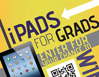 iPads for Grads Poster and Banner