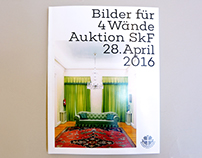 "Catalog for benefit auction ""Bilder für 4 Wände"""