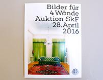 """Catalog for benefit auction """"Bilder für 4 Wände"""""""