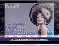 Website Design - Looks Salon, India.
