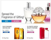 Fragrance Gifting emailer