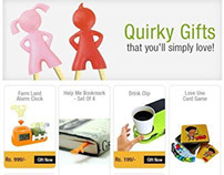 Quirky Gift emailer