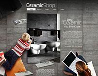 Ceramic Website Design