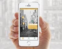Milk & Honey  iOS7 native application design