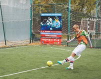 Football fest in Russia (Samara)
