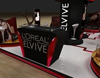 L'oreal Elvive Activation Booth