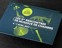 Le Conservatoire Emmanuel-Chabrier - Programme