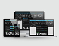 Responsive Website Presentation for ULS