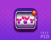Free PSD Slots app icon