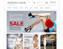 Perfection Fashion Clothes Store OpenCart Theme