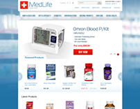 Medical Life Online Store OpenCart Theme