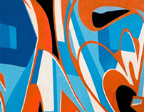 Wild style cubisme