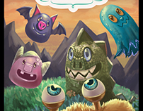 Monstrelos-Promotional Ilustration