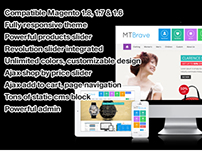 MT Brave multipurpose flat magento theme