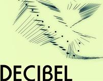 Poster for DECIBEL performing John Cage Variations