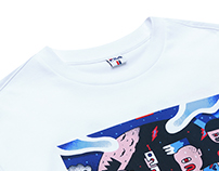 Collaboration with FILA & Don't Panic Magazine
