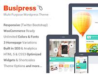 Busipress - Responsive Multi-Purpose Theme