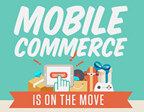 Mobile Commerce is on the Move - Infographic