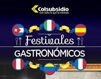 Festivales Gastronómicos