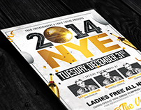 NYE Party 2 | Flyer + FB Cover