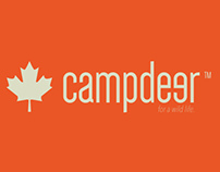 "Camp deer adv poster""personal project"""