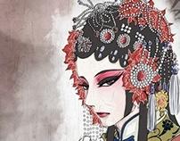 Peking opera illustration