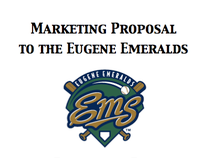 Eugene Emeralds Marketing Proposal