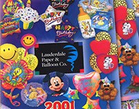Lauderdale Paper & Balloon Catalog