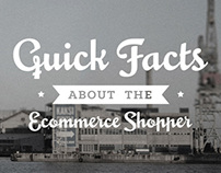 Quick Facts About the Ecommerce Shopper - Infographic