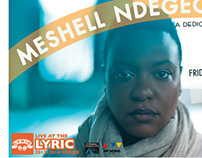 Meshell Ndegeocello Live at the Lyric Poster