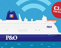 P&O Wi-fi Advertising