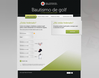 Bautismo de Golf - RFEG