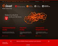 Slovanet Biznis web page 2014