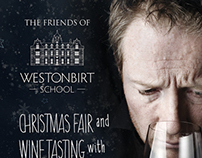 Westonbirt School Christmas Fair Flyer