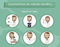 Infografía - Características del Método Científico