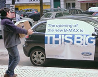 The opening of the new Ford B-Max is this big.