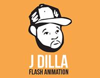 J DILLA Flash Animation