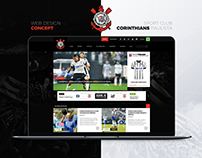 Sport Club Corinthians Paulista - Website Redesign