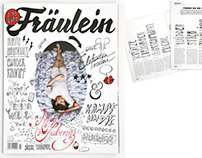 FRÄULEIN COVER & HOROSCOPE ILLUSTRATION