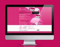 Le Cupcake Website Design