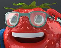 strawberry studious