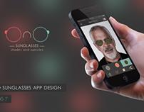 Ono Sunglasses // iPhone Application: Virtual Glasses