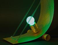 Sheet metal lamp