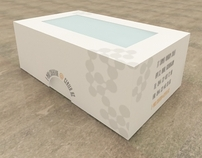 Box for business cards.