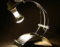 Bottle holder lamp 2