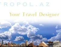 Brochure for travel agency.