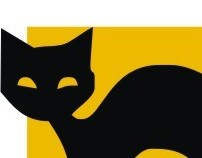 "Design company - ""Black cat"". Logo."