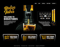 Logo and Website design - BoozeTubes
