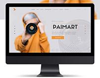 Landing page для фотостудии «PAIMART»