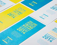 Mosaic 2014 Invitation Kit